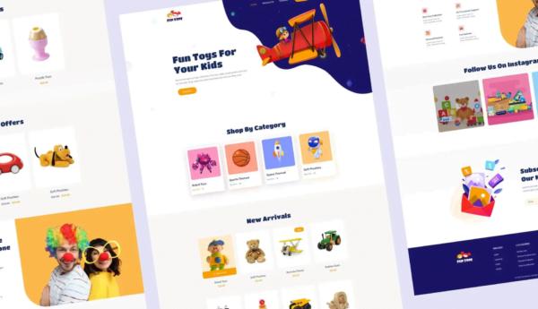 Fun Toys website ter inspiratie.